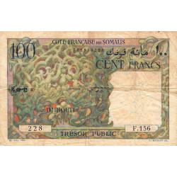 Djibouti - Pick 26 - 100 francs - 1952 - Etat : TB