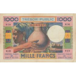 Djibouti - Pick 32 - 1'000 francs - 1974 - Etat : TTB-