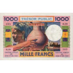 Djibouti - Pick 32 - 1'000 francs - 1974 - Etat : SPL