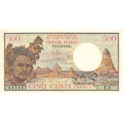 Djibouti - Pick 33 - 500 francs - 1975 - Etat : SUP
