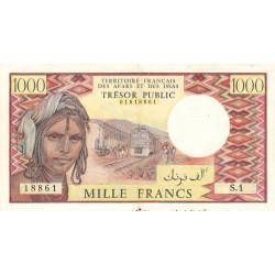 Djibouti - Pick 34 - 1'000 francs - 1975 - Etat : TTB