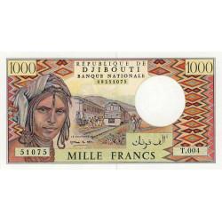 Djibouti - Pick 37e - 1'000 francs - 1995 - Etat : NEUF