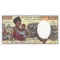 Djibouti - Pick 39b - 10'000 francs - 1984 - Etat : NEUF
