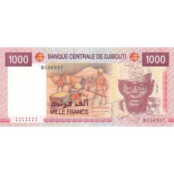 Djibouti - Pick 42 - 1'000 francs - 2005 - Etat : NEUF