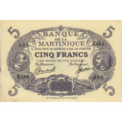 Martinique - Pick 6-3 - 5 francs - Etat : SUP