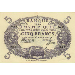 Martinique - Pick 6-3 - 5 francs - Etat : SPL+