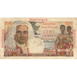 Martinique - Pick 31 - 100 francs - France Outre-Mer - 1947 - Etat : TTB-