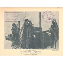 Emprunt de la Libération - 1918 - Escadrille de Sous-Marins de Bretagne