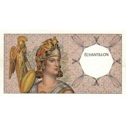 Athena à gauche - Format 50 francs QUENTIN DE LA TOUR - DIS-03-A-01 - Etat : SUP+