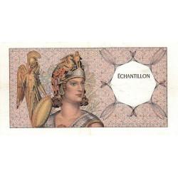 Athena à gauche - Format 100 francs DELACROIX - DIS-03-A-02 - Etat : TTB