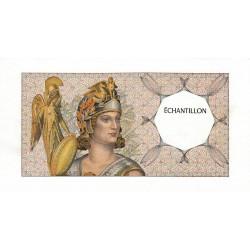 Athena à gauche - Format 200 francs MONTESQUIEU - DIS-03-D-03 - Etat : SUP