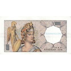 Athena à gauche - Format 100 francs DELACROIX - DIS-03-F-02 - Etat : TTB+