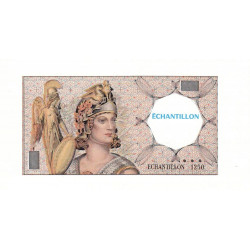 Athena à gauche - Format 500 francs PASCAL - DIS-03-F-04 - Etat : SPL