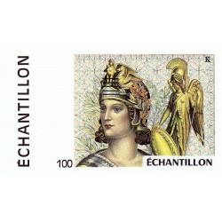 Athena à droite - 100 francs - DIS-04-B-03 - Couleure brune dominante - Etat : NEUF