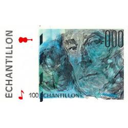 Ravel - Format 100 francs CEZANNE - DIS-05-A-02 - Etat : NEUF