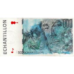 Ravel - Format 500 francs CURIE - DIS-05-A-04 - Etat : TTB
