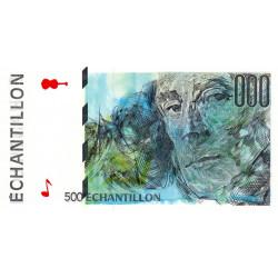 Ravel - Format 500 francs CURIE - DIS-05-A-04 - Etat : NEUF