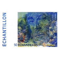 Ravel - 50 francs - DIS-05-B-01 - Couleur bleue dominante - Etat : NEUF