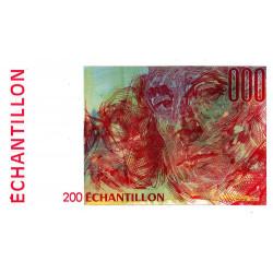 Ravel - 200 francs - DIS-05-B-03 - Couleur rouge dominante - Etat : NEUF