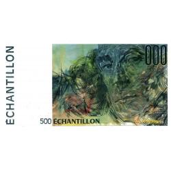 Ravel - 500 francs - DIS-05-B-04 - Couleur verte dominante - Etat : NEUF