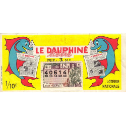 1962 - 1/10ème - Le Dauphiné libéré