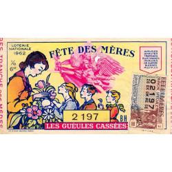 1962 - 1/10ème - Fête des Mères