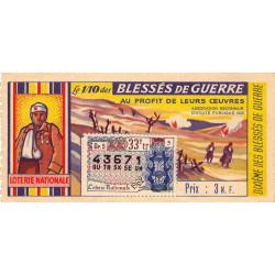 1962 - 1/10ème - Blessés de guerre