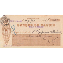 Banque de Savoie - 1926 - 1b - Etat : TB+