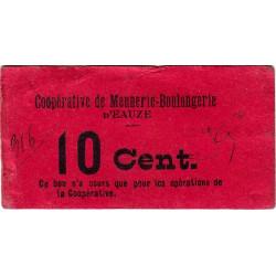 32 - Eauze - Coopérative de Meunerie Boulangerie - 10 centimes - Etat : TTB