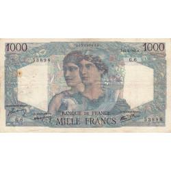F 41-01 - 12/04/1945 - 1000 francs - Minerve et Hercule - Etat : TB+