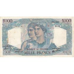 F 41-02 - 26/04/1945 - 1000 francs - Minerve et Hercule - Etat : TTB-