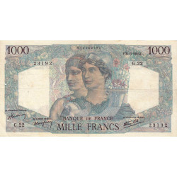 F 41-03 - 31/05/1945 - 1000 francs - Minerve et Hercule - Etat : TTB