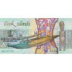 Cook (îles) - Pick 6 - 3 dollars - 16/10/1992 - Commémoratif - Etat : NEUF