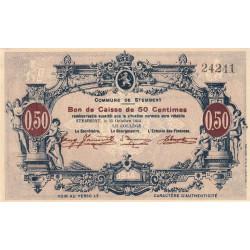 Belgique - Stemberg - ST127 - 50 centimes - 15/10/1914 - Etat : SPL à NEUF