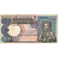 Angola - Pick 108 - 1'000 escudos - 10/06/1973 - Etat : TB+