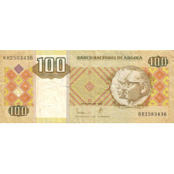 Angola - Pick 147a - 100 kwanzas - 10/1999 - Etat : TB