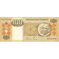Angola - Pick 147a - 100 kwanzas - 1999 - Etat : TB