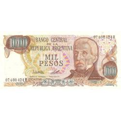 Argentine - Pick 304c1 - 1'000 pesos - Série H - 1978 - Etat : NEUF