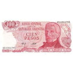 Argentine - Pick 302b2 - 100 pesos - Série E - 1978 - Etat : NEUF