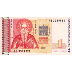 Bulgarie - Pick 114 - 1 lev - 1999 - Etat : NEUF