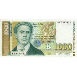 Bulgarie - Pick 105_2 - 1'000 leva - 1997 - Etat : SUP
