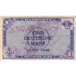 Allemagne RFA - Pick 2b - 1 deutsche mark - 1948 - Etat : TB+