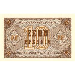Allemagne RFA - Pick 26 - 10 pfenning - 1967 - Etat : NEUF