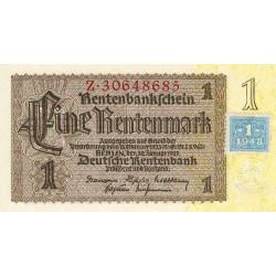 Allemagne RDA - Pick 1_2 - 1 deutsche mark - 1948 - Etat : NEUF