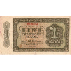 Allemagne RDA - Pick 9a_1 - 1 deutsche mark - 1948 - Etat : TB+