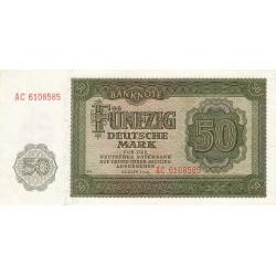 Allemagne RDA - Pick 14b - 50 deutsche mark - 1948 - Etat : UNC