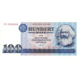 Allemagne RDA - Pick 31b - 100 mark der DDR - 1986 - Etat : SUP+