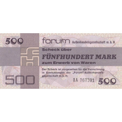 Allemagne RDA - Pick FX 7 - 500 mark - Série AA - 1979 - Etat : NEUF