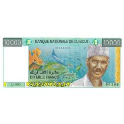 Djibouti - Pick 41 - 10'000 francs - 1999 - Etat : NEUF