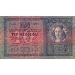 Autriche - Pick 9 - 10 kronen - 1904 - Etat : TTB